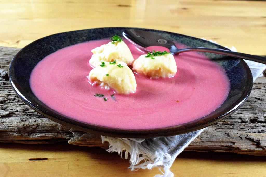Raffinierte Rote-Bete-Suppe