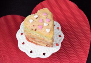Herzige Ombre Törtchen zum Valentinstag