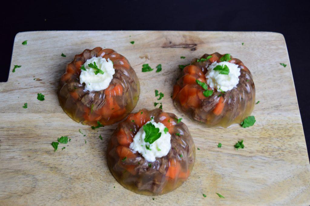 Rindfleisch-Sülzchen