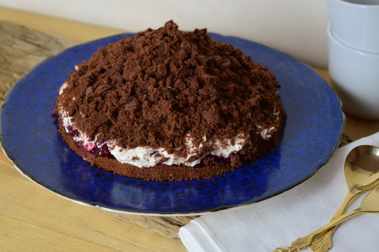 Schwarzwälder Kirsch, Maulwurfkuchen, Kuchen, Torte, Blackforestkitchen