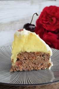 Herzhaft, Schwarzwälder Kirschtorte, Torte, Hackfleisch, Kartoffelpüree, Blackforestkitchen