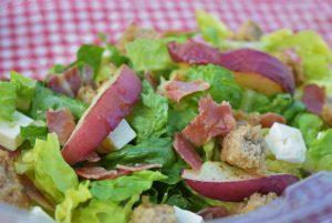 Picknick, Brot, Salat, Sommer, Blackforestkitchen