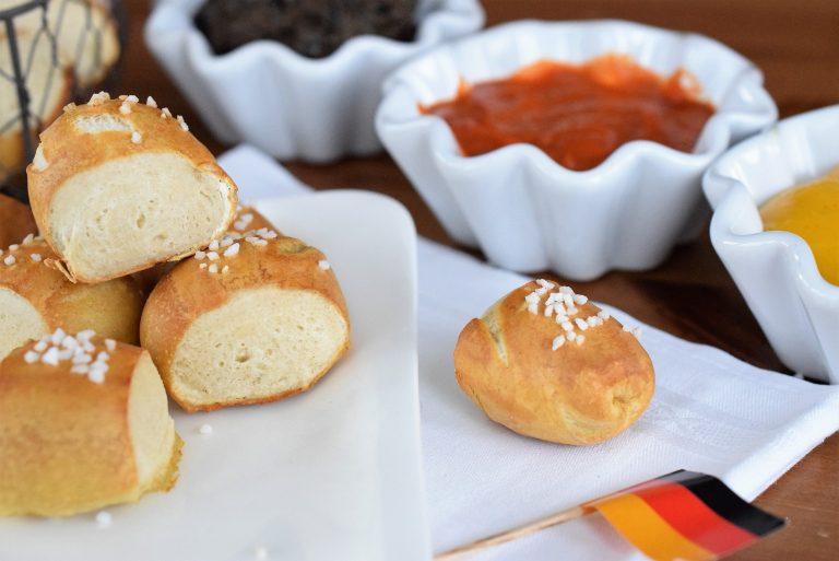 WM-Snack mit Dips