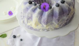 Heidelbeer-Eistorte zum 3. Bloggeburtstag