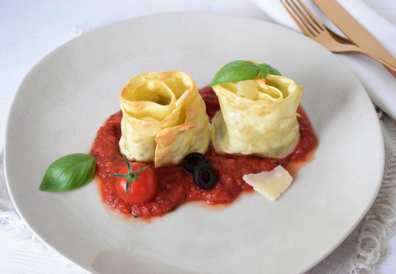 Italienische Nudelrolle