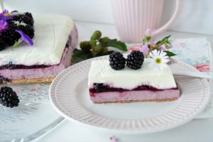 No Bake Brombeer-Torte