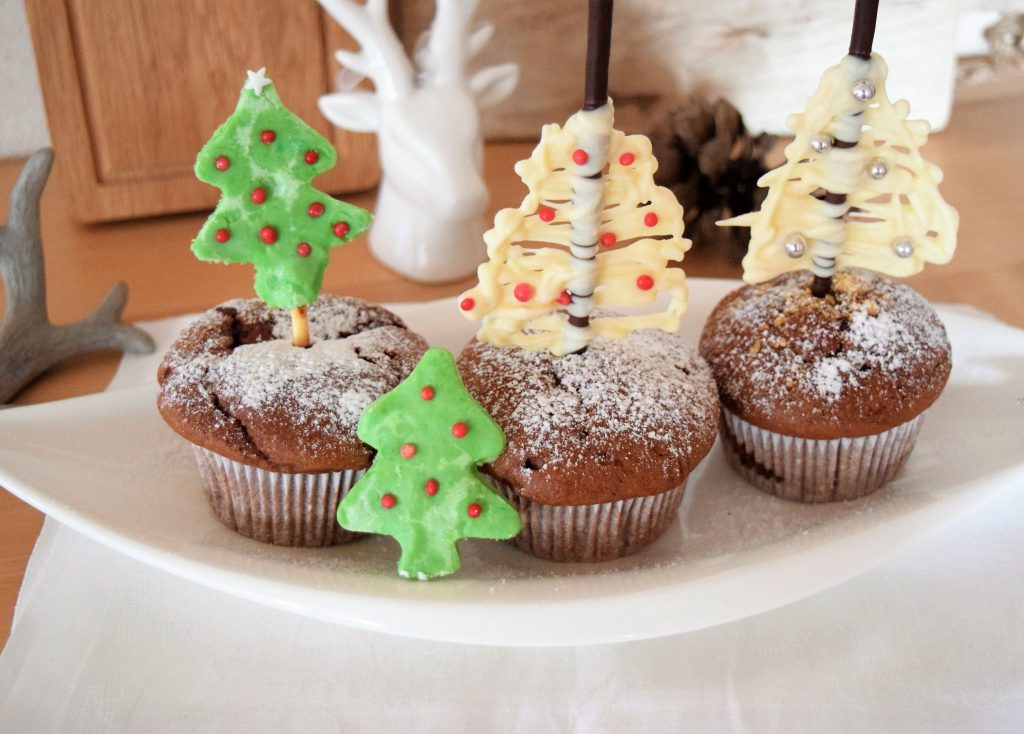 Weihnachtsmuffins