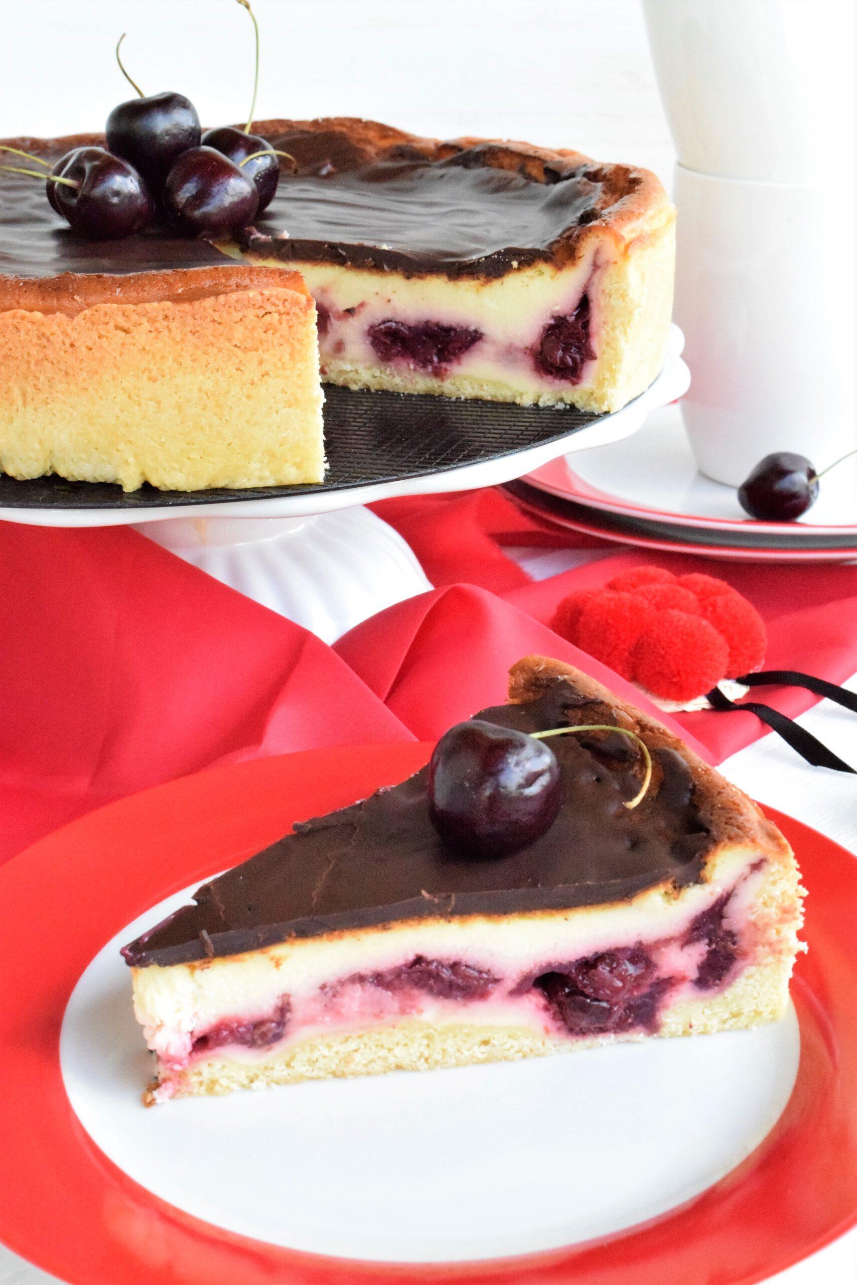 Cheesecake Schwarzwälder Art