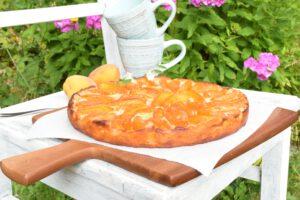 Aprikostentarte aus Yufkateig