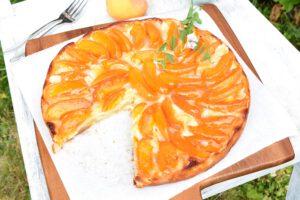 Aprikosentarte aus Yufkateig