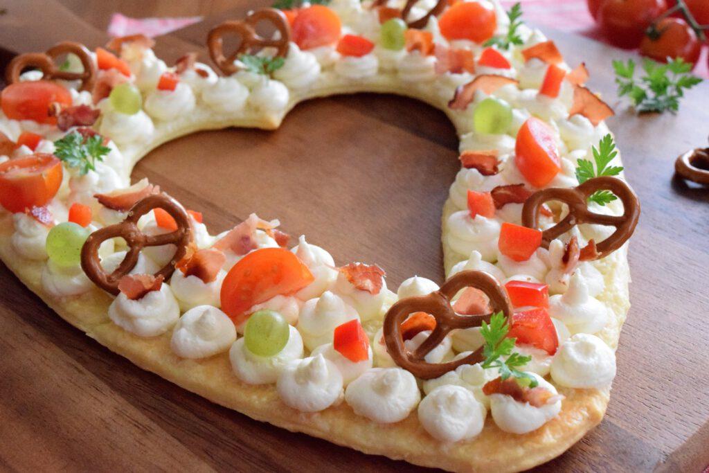 Herzhafter Lettercake