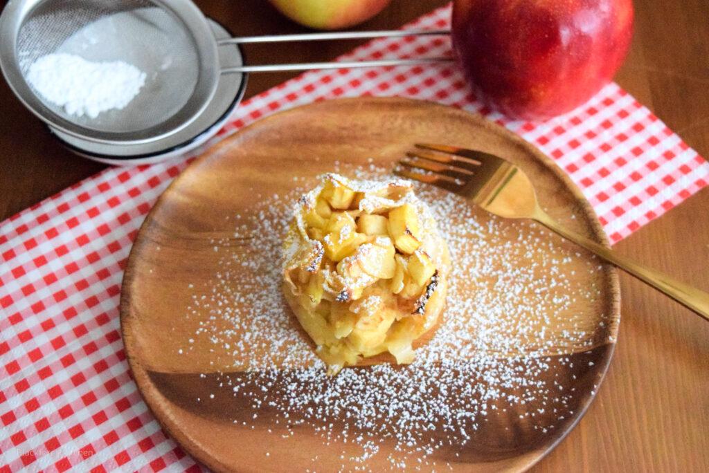 Schnelle Apfelstrudel