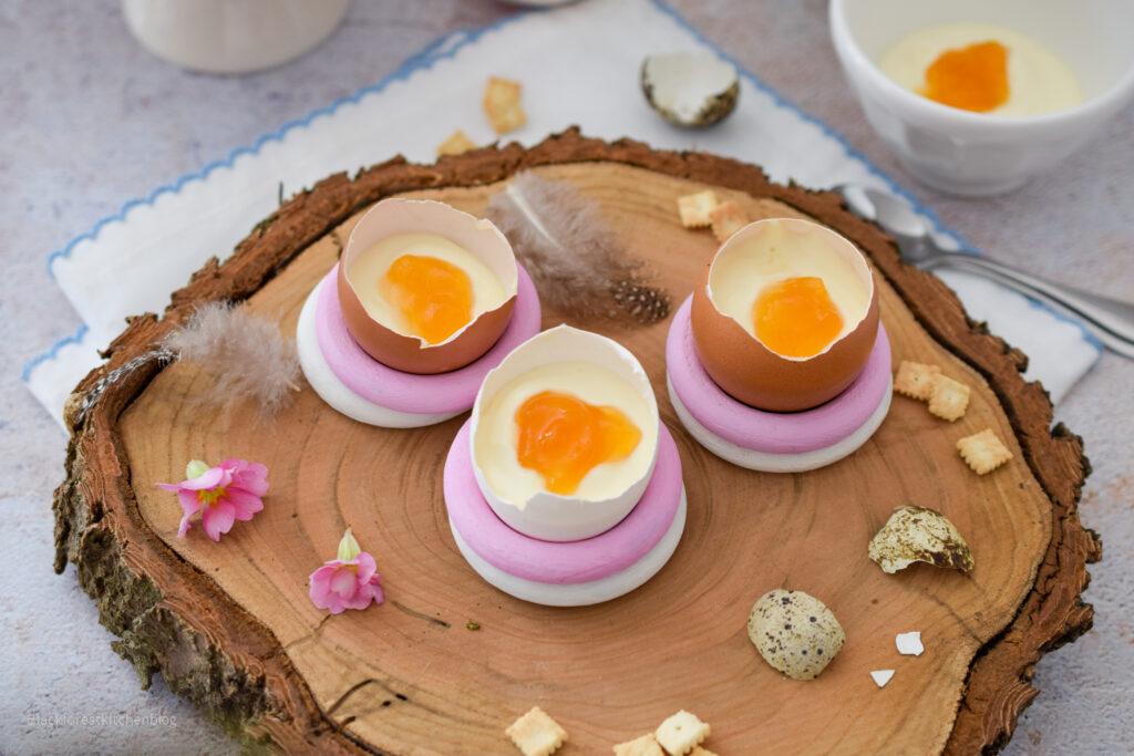Osterdessert im Ei
