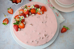 Erdbeertorte mit Yogurette